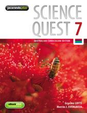 SCIENCE QUEST 7 AUSTRALIAN CURRICULUM EDITION & EBOOKPLUS