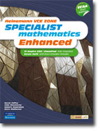 HEINEMANN VCE ZONE SPECIALIST MATHS ENHANCED