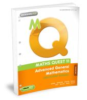 MATHS QUEST 11 ADVANCED GENERAL MATHEMATICS SOLUTIONS MANUAL 2E FLEXISAVER & EBOOKPLUS