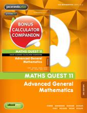 MATHS QUEST 11 ADVANCED GENERAL MATHEMATICS 2E & EBOOKPLUS + CASIO CLASSPAD CALCULATOR COMPANION