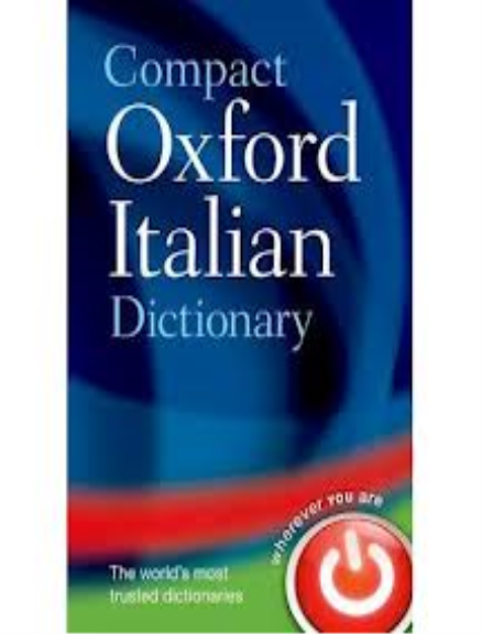 Buy Book - COMPACT OXFORD ITALIAN DICTIONARY   Lilydale Books