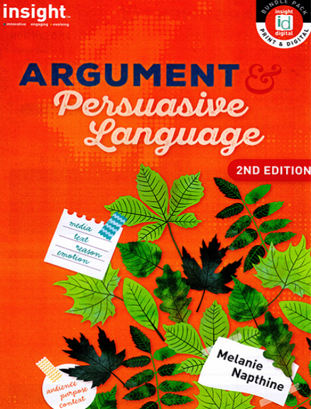 Buy Book Insight Argument And Persuasive Language Student Book 2e