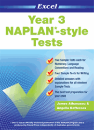 YEAR 3 NAPLAN* - STYLE TESTS