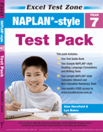 YEAR 7 NAPLAN* - STYLE TEST PACK