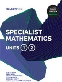 NELSON VCE SPECIALIST MATHEMATICS UNITS 1&2 STUDENT BOOK + EBOOK