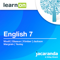 JACARANDA ENGLISH 7 VICTORIAN CURRICULUM LEARNON