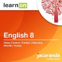 JACARANDA ENGLISH 8 VICTORIAN CURRICULUM LEARNON