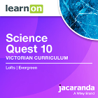 JACARANDA SCIENCE QUEST 10 VICTORIAN CURRICULUM LEARNON EBOOK