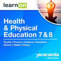 JACARANDA HEALTH & PHYSICAL EDUCATION 7 & 8 VICTORIAN CURRICULUM LEARNON EBOOK