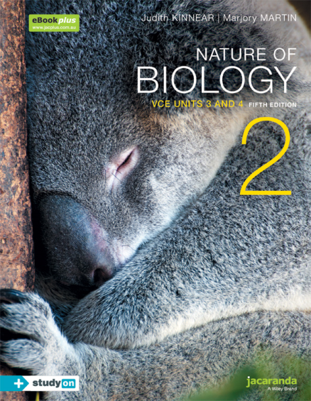 NATURE OF BIOLOGY 2 VCE UNITS 3&4 & EBOOK 5E (INCL. STUDYON)