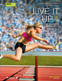 LIVE IT UP 1 VCE PHYSICAL EDUCATION UNITS 1&2 & EBOOKPLUS 4E (INCL STUDYON)
