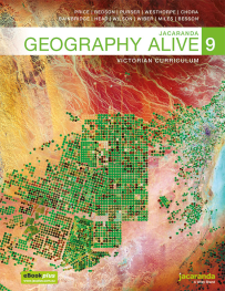 JACARANDA GEOGRAPHY ALIVE 9 VICTORIAN CURRICULUM TEXTBOOK & LEARNON