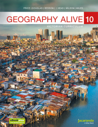 JACARANDA GEOGRAPHY ALIVE 10 VICTORIAN CURRICULUM TEXTBOOK & LEARNON