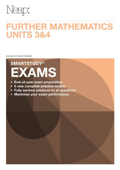 buy book neap smartstudy exam further mathematics vce units 3 4 rh lilydalebooks com au  neap smartstudy english guide