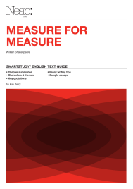 NEAP SMARTSTUDY: MEASURE FOR MEASURE EBOOK (No printing or refunds. Check product description before purchasing)