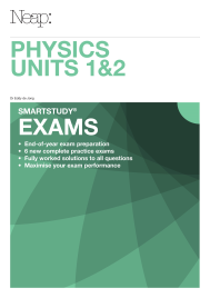 NEAP SMARTSTUDY EXAM: PHYSICS VCE UNITS 1&2 EBOOK (No printing or refunds. Check product description before purchasing)