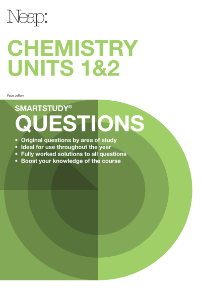 Buy Book - NEAP SMARTSTUDY QUESTIONS: CHEMISTRY VCE UNITS 1&2 EBOOK