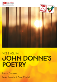 MAKE YOUR MARK: JOHN DONNE'S POETRY EBOOK (No printing or refunds. Check product description before purchasing)