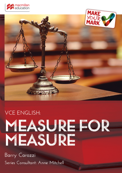 MAKE YOUR MARK: MEASURE FOR MEASURE EBOOK (No printing or refunds. Check product description before purchasing)