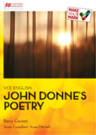 MAKE YOUR MARK: JOHN DONNE'S POETRY