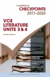 CHECKPOINTS VCE LITERATURE 2017 - 2020 + QUIZ ME MORE