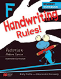 HANDWRITING RULES! VICTORIAN BEGINNER'S MODERN CURSIVE YEAR F