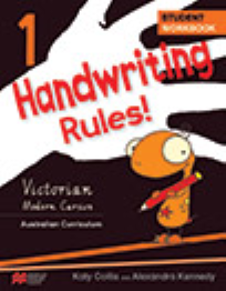 HANDWRITING RULES! VICTORIAN BEGINNER'S MODERN CURSIVE YEAR 1