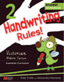 HANDWRITING RULES! VICTORIAN BEGINNER'S MODERN CURSIVE YEAR 2