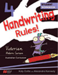 HANDWRITING RULES! VICTORIAN BEGINNER'S MODERN CURSIVE YEAR 4