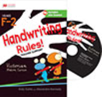 HANDWRITING RULES! VIC MODERN CURSIVE FOUNDATION TO YEAR 2 CD