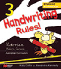 HANDWRITING RULES! VICTORIAN BEGINNER'S MODERN CURSIVE YEAR 3
