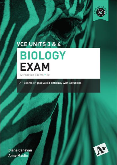 Buy Book - A+ BIOLOGY PRACTICE EXAM VCE UNITS 3&4 (2E