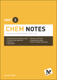 A+ CHEM NOTES VCE UNIT 3 (4E)