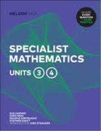 NELSON VCE SPECIALIST MATHEMATICS UNITS 3&4 STUDENT EBOOK