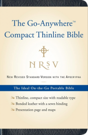 NRSV GO ANYWHERE COMPACT THINLINE BIBLE WITH APOCRYPHA
