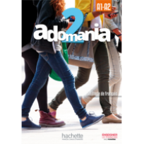 ADOMANIA 2/A1-A2 TEXTBOOK ENGLISH VERSION & DVD-ROM