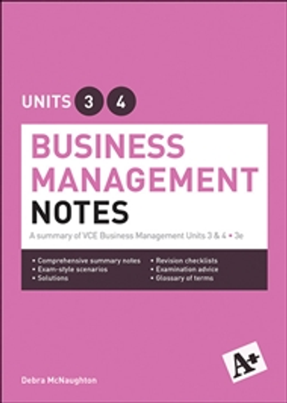 business management general notes units 34 essay