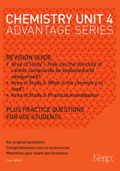 Buy Book - NEAP ADVANTAGE: CHEMISTRY UNIT 4 | Lilydale Books