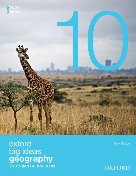 OXFORD BIG IDEAS GEOGRAPHY 10 VICTORIAN CURRICULUM STUDENT BOOK + OBOOK