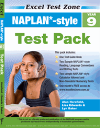 YEAR 9 NAPLAN* - STYLE TEST PACK