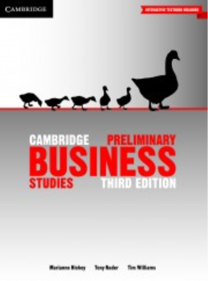 business studies preliminary The cambridge english: business preliminary vocabulary list was originally developed by cambridge.