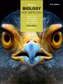 NELSON BIOLOGY VCE UNITS 3&4 STUDENT BOOK + EBOOK 3E