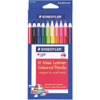 10 MAXI NORIS LEARNER COLOURED PENCILS