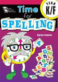 TIME FOR SPELLING BOOK K/F