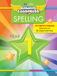 ABC READING EGGSPRESS: SPELLING WORKBOOK: YEAR 1