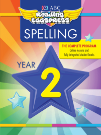 ABC READING EGGSPRESS: SPELLING WORKBOOK: YEAR 2