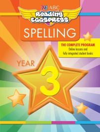 ABC READING EGGSPRESS: SPELLING WORKBOOK: YEAR 3