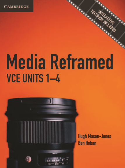 CAMBRIDGE MEDIA REFRAMED: VCE UNITS 1-4 TEXTBOOK