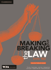 CAMBRIDGE MAKING & BREAKING THE LAW UNITS 1&2 EBOOK