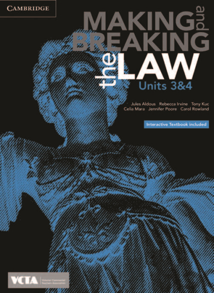CAMBRIDGE MAKING & BREAKING THE LAW UNITS 3&4 EBOOK